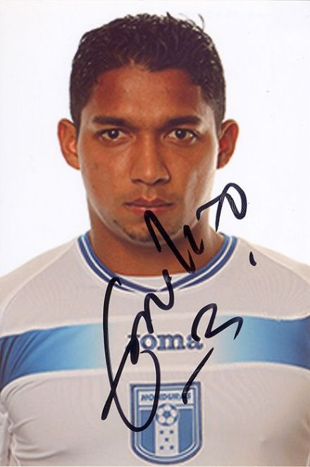 Emilio Izaguirre, Glasgow Celtic, Honduras, signed 6x4 inch photo.